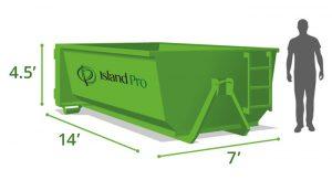 12 Yard Roll Off Dumpster Bin Rentals