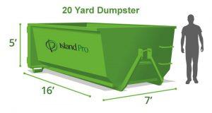20 Yard Dumpster Rentals Victoria to Sidney, BC.